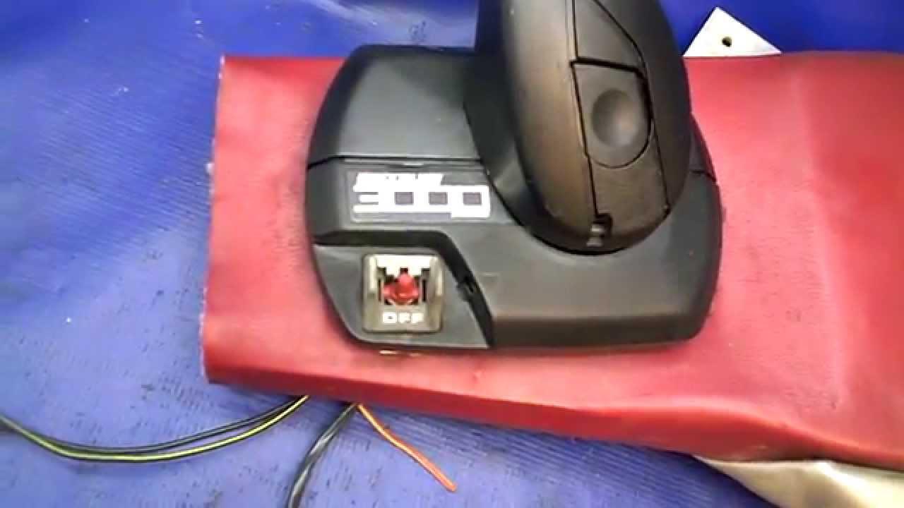 SOLD Mercruiser Control Box Quicksilver 3000 Flush Mount