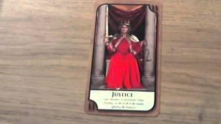 LOVE TAROT JUSTICE CARD TAROT  | TAROT READING