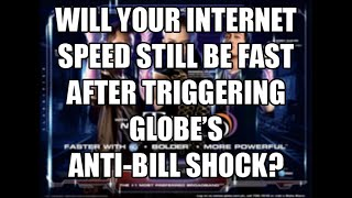Globe Tattoo Speed After Triggering Anti-Bill Shock? Watch to Find out!