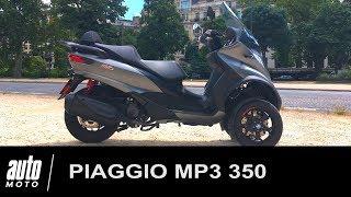 2018 Piaggio MP3 350 Essai POV Auto-Moto.com