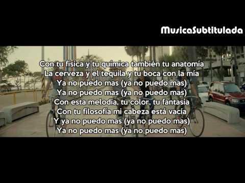Enrique Iglesias  Bailando ft Descemer Bueno, Gente De Za Letra