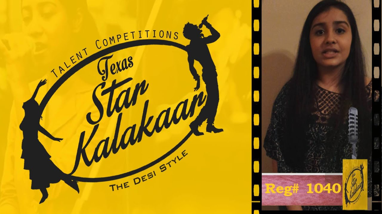 Texas Star Kalakaar 2016 - Registration No # 1040