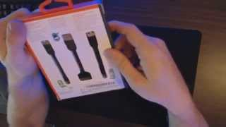 Griffin USB Mini-Cable Kit -- Unboxing & Overview