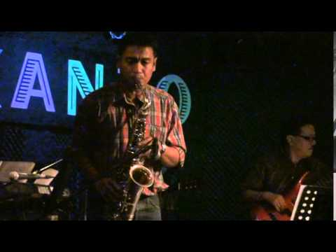 I'VE GOT YOU UNDER MY SKIN, Sax Solo by Dix Lucero @ KANTO BAR, Davao City with Demy, Mike & Mark