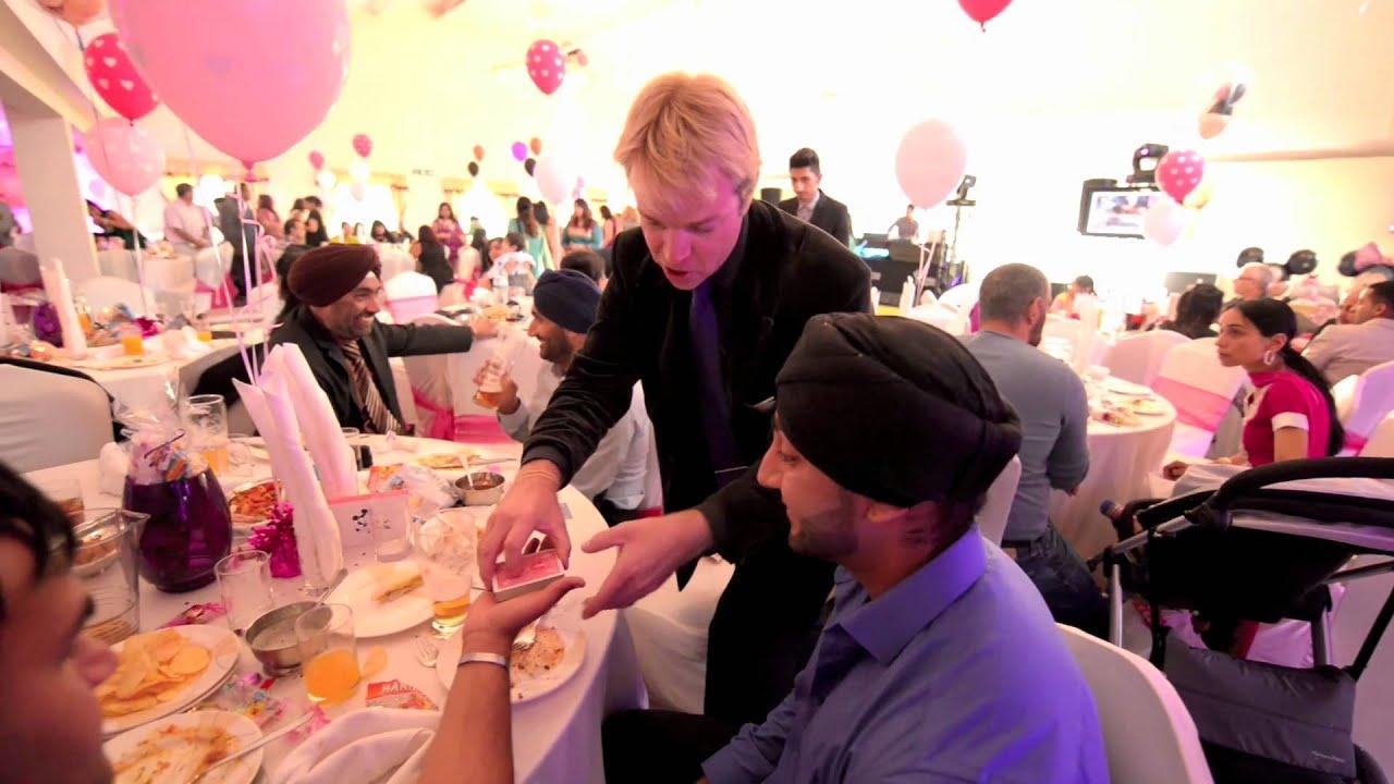 Wedding Reception Entertainment Ideas Wedding Magician Youtube