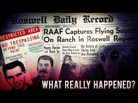 The 1947 Roswell Crash Theory You've Probably Never Heard
