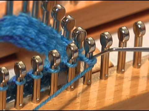 Sock Loom Heel And Toe Part 1 Youtube