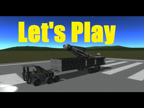 Let's Play Kerbal Space Program ERD - ICBM Missile Launcher - Ep72 - NOELonPC