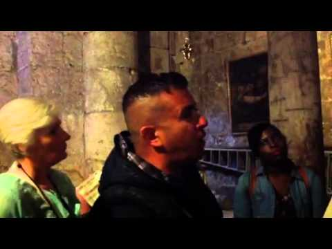 Jerusalem Tour: 2014 Inside The Church of The Holy Sepulchre