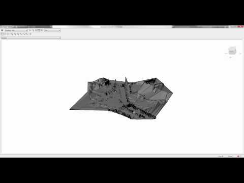 New in AutoCAD Civil 3D 2016: Surface Creation from Point Cloud Data