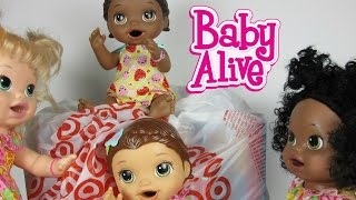 Baby Alive Target Haul Better Now Bailey, Strawberry Shortcake Doll, Glow in the Dark Playdoh