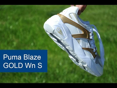 puma blaze gold