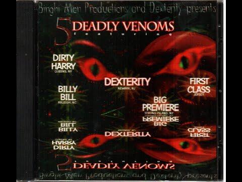 5 Deadly Venoms - 1996 - 1st Klass - Dexterity - Dirty Harry - Big Premiere - Billy Bill - 74 min.