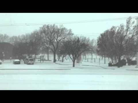 Snow in Edmond America