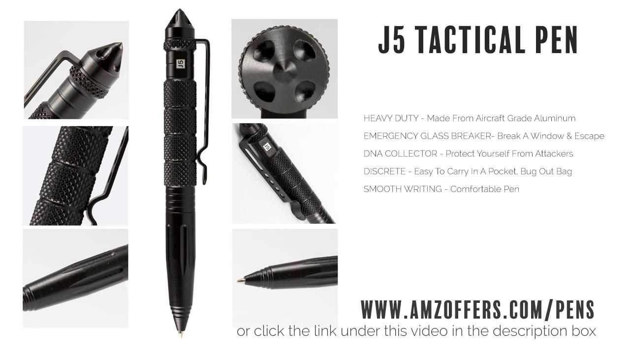 SM4B Fisher Space NonReflective Military Cap-O-Matic Space Pen Matte Black