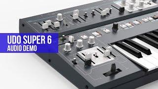UDO Super 6 Audio Demo by CO5MA