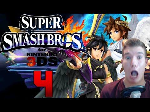 Let's Play Super Smash Bros 3DS [Facecam] Part 4: Ich kann nix !