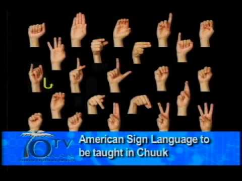 New program brings American Sign Language to Chuuk - VIDEO