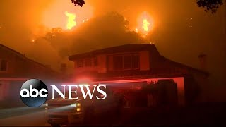 Southern California fire prompts mandatory evacuations