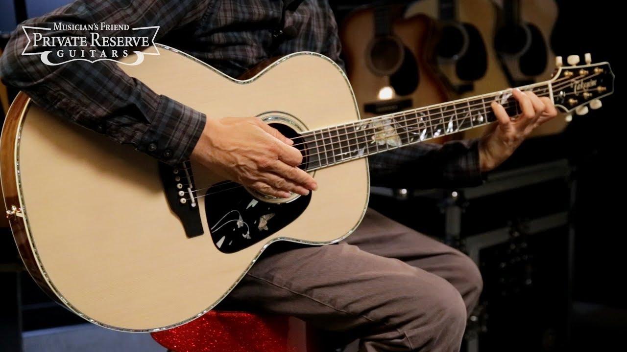 LTD-2018 Gifu-Cho Acoustic-Electric Guitar Gloss Natural