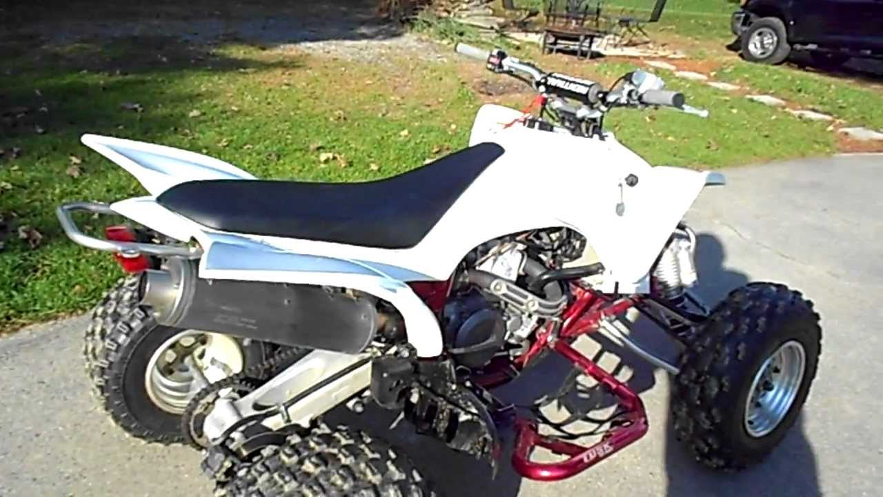 YFZ450 Stock Exhaust No Baffle