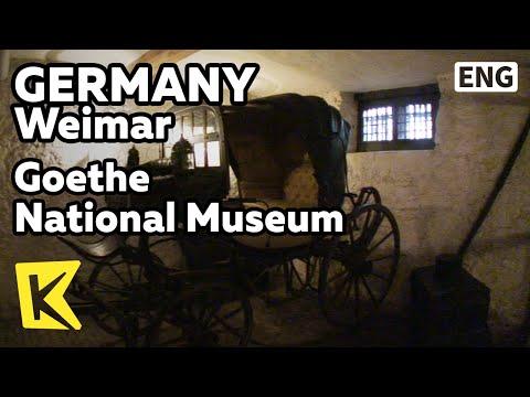 【K】Germany Travel-Weimar[독일 여행-바이마르]파우스트가 완성된 산장과 괴테 국립박물관/Goethe National Museum/Mountain Cabin