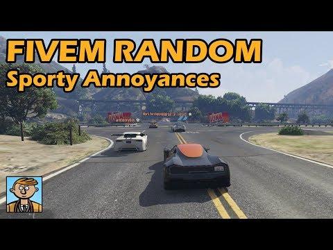 Sporty Annoyances - GTA FiveM Random Racing Live #55