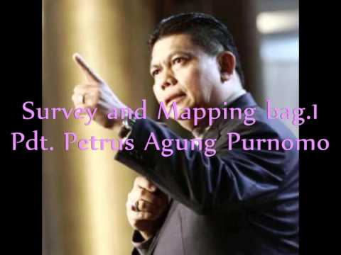 Pdt. Petrus Agung Purnomo - Survey And Mapping Bag 1
