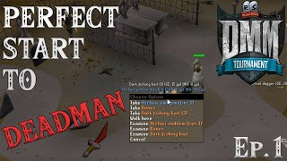 [OSRS] - Deadman Mode Progress #1