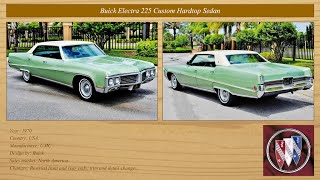 Classic Cars Collection: Buick 1966-1970