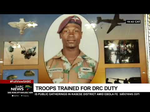 SA troops ready for DRC deployment