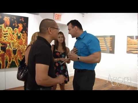 Gallery, Chelsea, NYC, Art Gallery Video. Opening Reception August 2nd 2012.