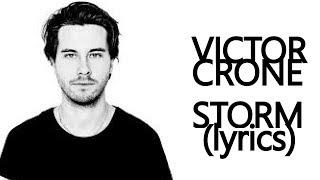 Victor Crone - Storm - Lyrics - Eesti Laul 2019 - Estonia - Eurovision 2019