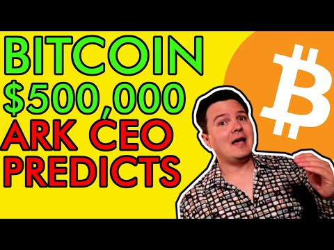 INVESTING LEGEND CATHIE WOOD PREDICTS $500,000 BITCOIN PRICE! BUT DANGER LOOMS…