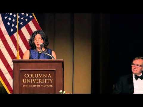 2015 John Chancellor Award Ceremony - Susan Freinkel