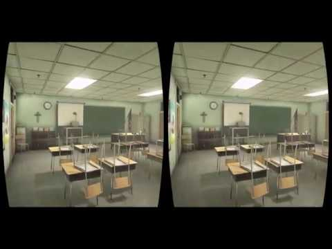 Outlast 2 Virtual Reality sinking in fear Oculus Rift - creepy walkthrough,  TriDef 3D mod 2017