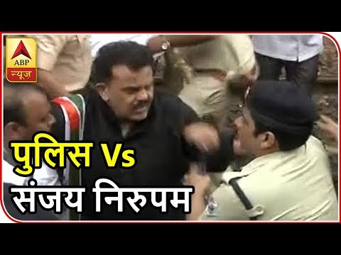 Congress Bharat Bandh Effect in Mumbai: Tussle Between Sanjay Nirupam, Police | ABP News