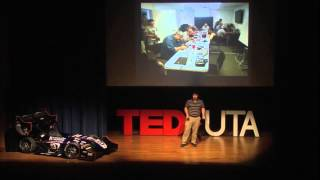 Drones -- how I learned to stop worrying and love my autonomous overlords | Romeo Espana | TEDxUTA