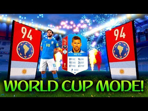 *WORLD CUP* MESSI IN A PACK! FUT 18 WORLD CUP PACK OPENING