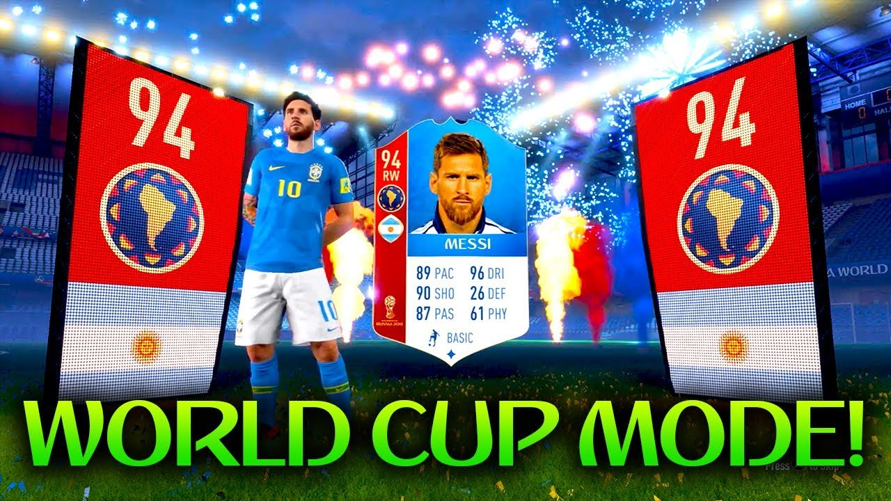 e9eac2903 WORLD CUP  MESSI IN A PACK! FUT 18 WORLD CUP PACK OPENING - YouTube