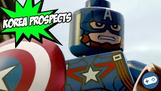 Lego marvel avengers korea prospects gameplay with captain america and scarlet witch