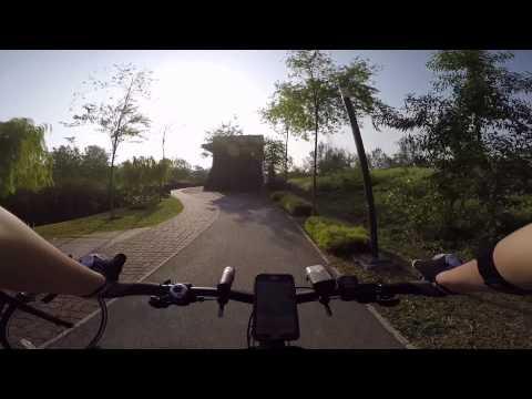 Cycling through Yishun, Punggol & Pasir Ris on a mountain bike