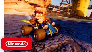 Crash Team Racing Nitro-Fueled - Gameplay Trailer - Nintendo Switch