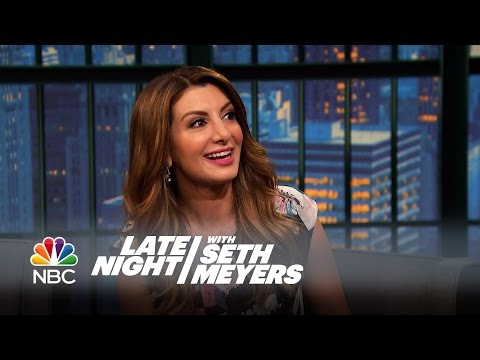 Nasim Pedrad Reveals the Story Behind Her Arianna Huffington Impression