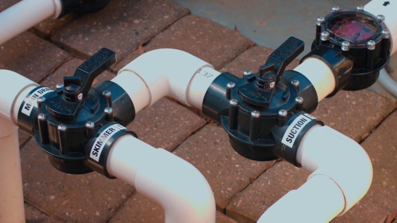 How To  Pool Valves