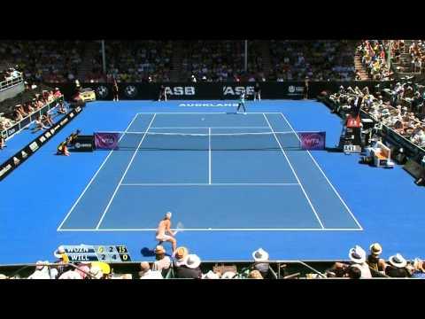 Wozniacki vs Venus Final Auckland 2015 Highlights