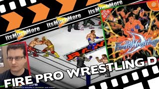 Fire Pro Wrestling D - Sega Dreamcast : Play Through [Gameplay]