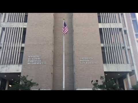 A Lesson On The Lafayette Parish Courthouse