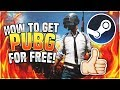 How To Get PLAYERUNKNOWN'S BATTLEGROUNDS For Free With Multiplayer - FREE STEAM GAMES 2018