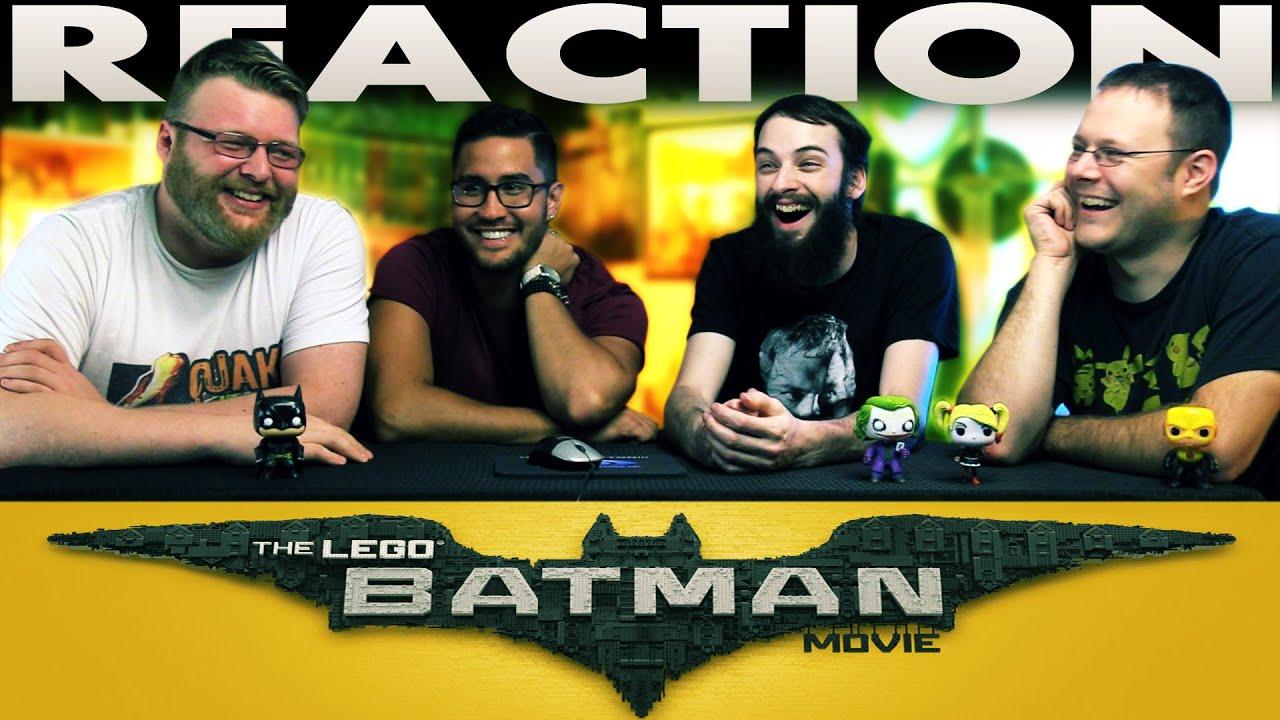 The LEGO Batman Movie Comic-Con Trailer REACTION!! - YouTube